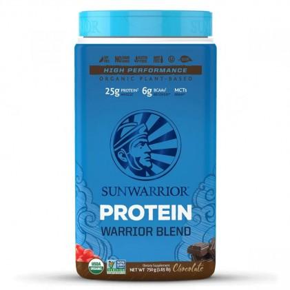 Bột protein thực vật hữu cơ Sunwarrior Warrior Blend 6