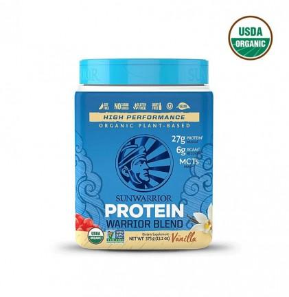 Bột protein thực vật hữu cơ Sunwarrior Warrior Blend 1