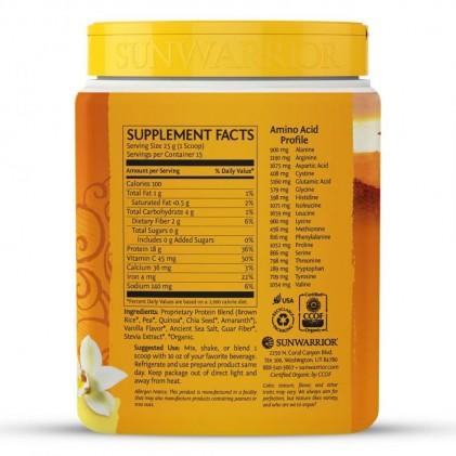 Bột protein thực vật hữu cơ Sunwarrior Classic Plus 12