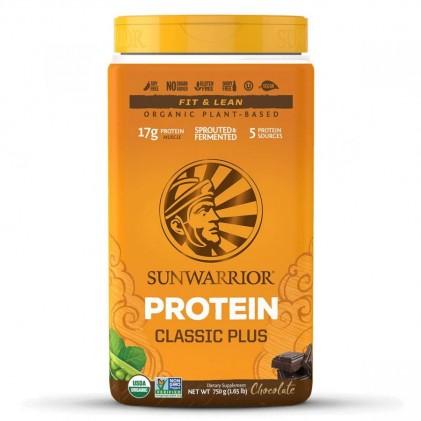 Bột protein thực vật hữu cơ Sunwarrior Classic Plus 5
