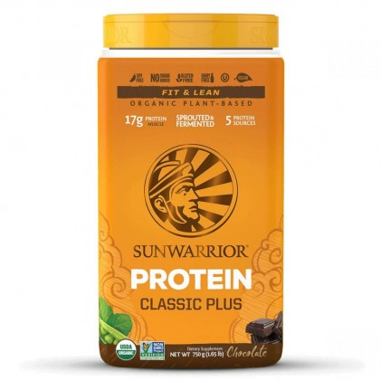 Bột protein thực vật hữu cơ Sunwarrior Classic Plus 4