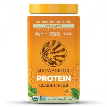 Bột protein thực vật hữu cơ Sunwarrior Classic Plus 9