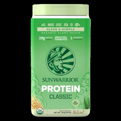 Bột protein thực vật hữu cơ Sunwarrior Classic Protein 8
