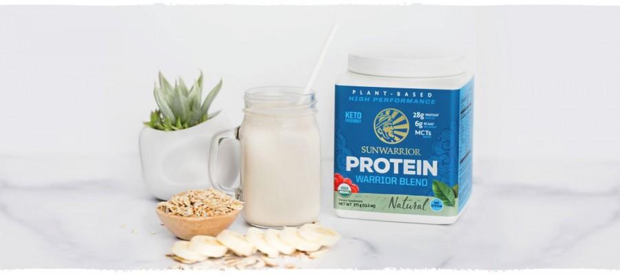 Bột protein thực vật hữu cơ Sunwarrior Warrior Blend 15