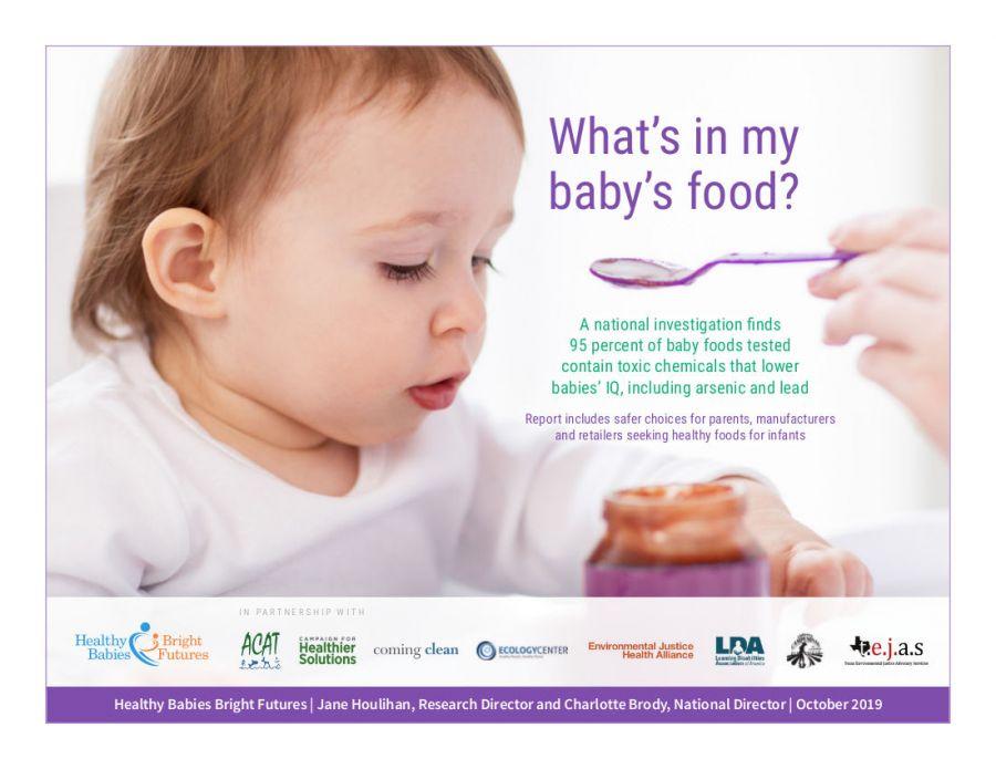 Có gì trong đồ ăn của con tôi (Báo cáo gây sửng sốt của Healthy Babies Bright Future) 1