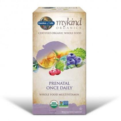 Vitamin cho phụ nữ mang thai & cho con bú hữu cơ Mykind Organics, Prenatal Once Daily, 90 viên 3