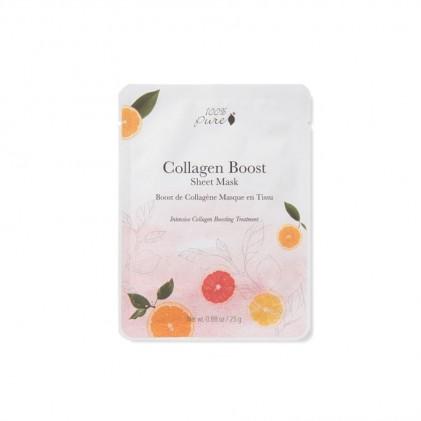 Mặt nạ giấy thúc đẩy sản sinh collagen 100% Pure 1
