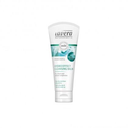 Tẩy trang & sữa rửa mặt giữ ẩm & chống ô nhiễm Lavera hydro effect cleansing balm 1
