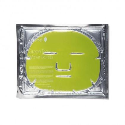 Mặt nạ hydrogel cung cấp độ ẩm 100% Pure Green Tea Water Bomb Mask 1