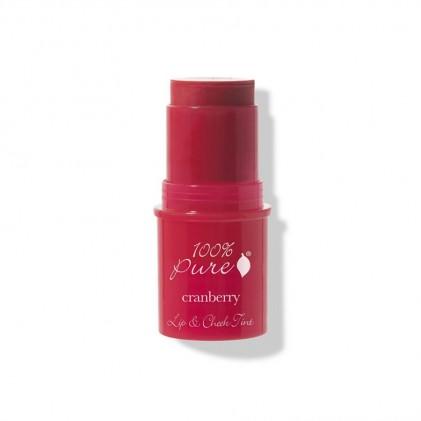 Son má môi 2 trong 1 hiệu 100% Pure Fruit Pigmented Lip & Cheek Tint 1