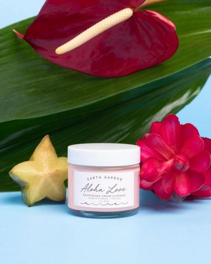 Kem rửa mặt nuôi dưỡng da Earth Harbor ALOHA LOVE Nourishing Cream Cleanser 5