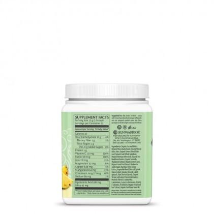 Bột tăng cường collagen với nhiều rau xanh & lợi khuẩn Sunwarrior Beauty Greens Collagen Booster 3