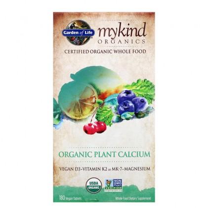 Viên uống bổ sung canxi hữu cơ từ thực vật Mykind Organics Plant Calcium 3
