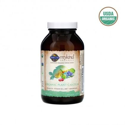 Viên uống bổ sung canxi hữu cơ từ thực vật Mykind Organics Plant Calcium 1