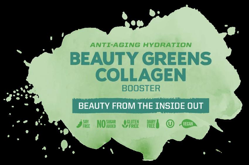 Bột tăng cường collagen với nhiều rau xanh & lợi khuẩn Sunwarrior Beauty Greens Collagen Booster 9