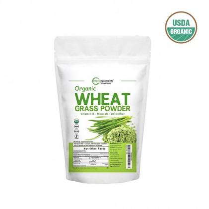 Bột cỏ lúa mì hữu cơ Micro Ingredients Organic Wheatgrass Powder 227g 1