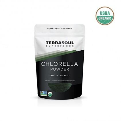 Bột tảo lục chlorella hữu cơ Terrasoul 1