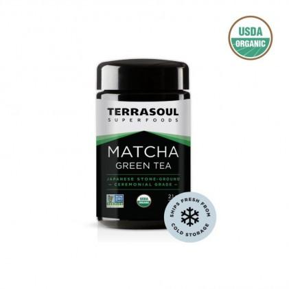 Bột trà xanh matcha hữu cơ cao cấp Terrasoul (Ceremonial Grade) 60g 1