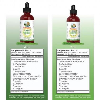 Dung dịch bổ sung lợi khuẩn hữu cơ Mary Ruth's Liquid Probiotic 2