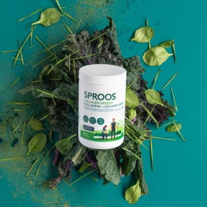 Collagen thủy phân từ cá chứa thêm rau xanh Sproos Collagen Greens 3