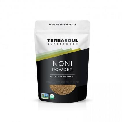 Bột trái nhàu hữu cơ Terrasoul Noni Juice Powder 1