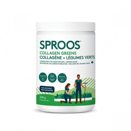 Collagen thủy phân từ cá chứa thêm rau xanh Sproos Collagen Greens 1