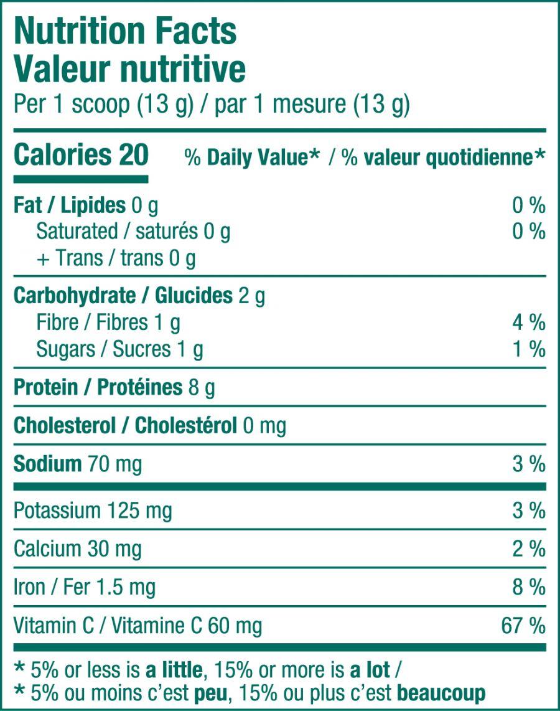 Collagen thủy phân từ cá chứa thêm rau xanh Sproos Collagen Greens 5