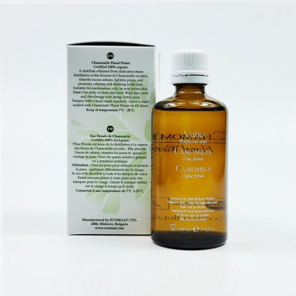 Toner hoa cúc hữu cơ Ecomaat Chamomile floral water 3