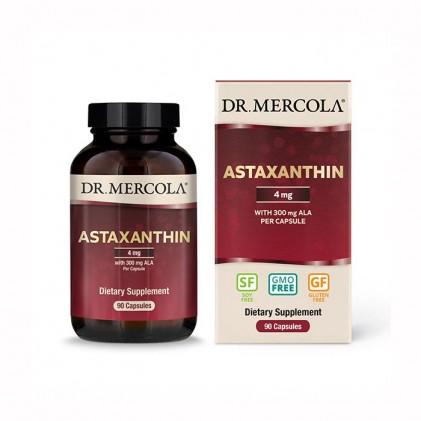 Organic Astaxanthin chứa ALA Dr Mercola 4mg 90 ngày dùng 1