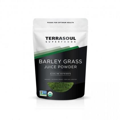 Bột nước ép cỏ lúa mạch hữu cơ Terrasoul Barley grass juice powder 1