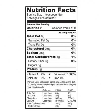 Bột camu camu hữu cơ Terrasoul, cung cấp vitamin C tự nhiên 2