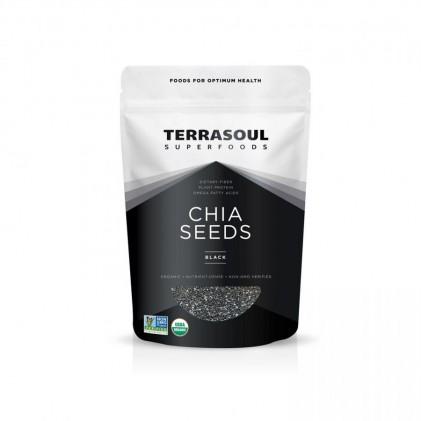 Hạt chia đen hữu cơ Terrasoul Chia Seed Black 1