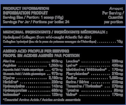 Bột collagen peptide thủy phân từ cá Sproos Marine Collagen 4
