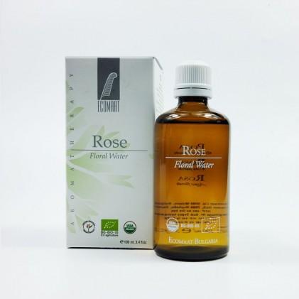Toner hoa hồng hữu cơ Ecomaat Rose Damascena floral water 2