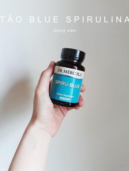 Tảo Blue Spirulina dạng viên Dr.Mercola 1