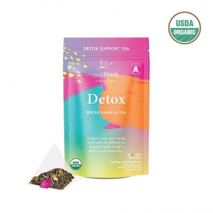 Trà thải độc hữu cơ Pink Stork Detox Tea (30 cốc) 1