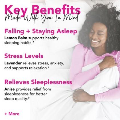 Trà giúp ngủ ngon hữu cơ Pink Stork Sleep Tea (30 cốc) 2