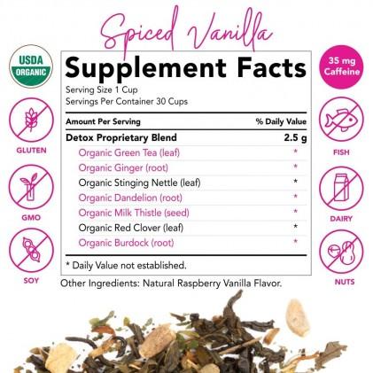 Trà thải độc hữu cơ Pink Stork Detox Tea (30 cốc) 3