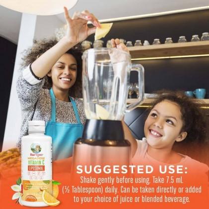 Liều cao vitamin C Mary Ruth's Megadose Vitamin C Liposomal 5