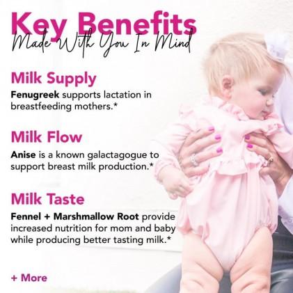 Trà lợi sữa hữu cơ Pink Stork Lactation Tea (30 cốc) 2