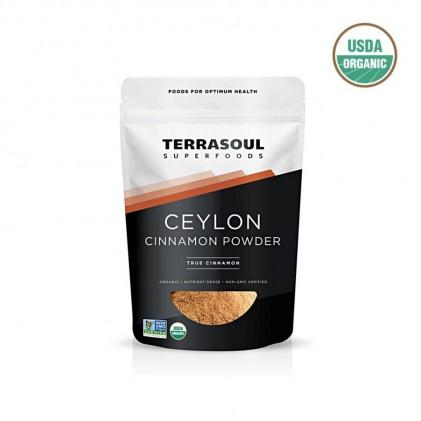 Bột quế ceylon hữu cơ Terrasoul CEYLON CINNAMON POWDER 454g 1