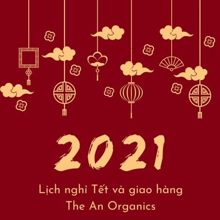 Lịch nghỉ Tết và giao hàng Tết 2021