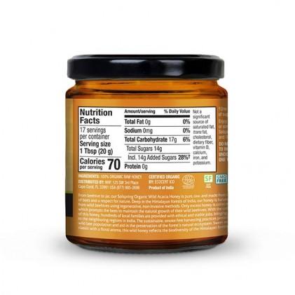 Mật ong rừng hữu cơ Dr Mercola Solspring® Organic Wild Acacia Raw Honey 2