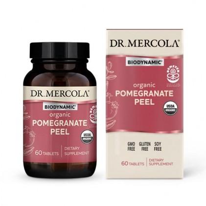 Viên uống vỏ quả lựu hữu cơ Dr Mercola Biodynamic® Organic Pomegranate Peel 1