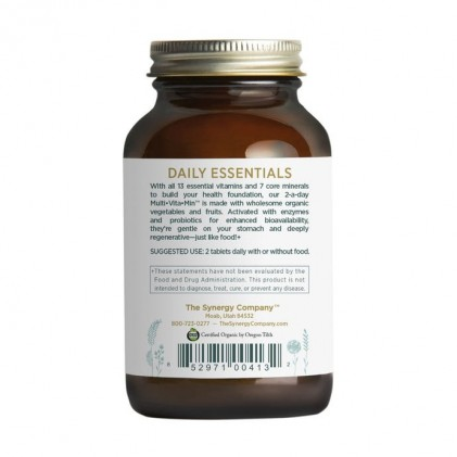 Viên uống bổ sung vitamin Pure Synergy MULTI•VITA•MIN™ 3