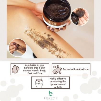 Tẩy da chết cơ thể cà phê hữu cơ Beauty By Earth Coffee & Sugar Body Scrub 2