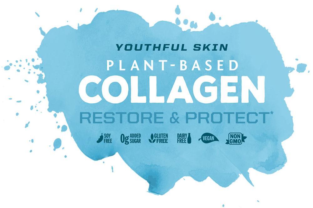 Viên uống chống nắng, bảo vệ & khôi phục collagen Sunwarrior Vegan Collagen Capsules 4