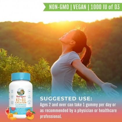 Viên kẹo nhai bổ sung vitamin D3, K2 và canxi Mary Ruth's 5