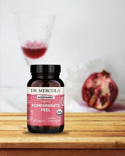 Viên uống vỏ quả lựu hữu cơ Dr Mercola Biodynamic® Organic Pomegranate Peel 5