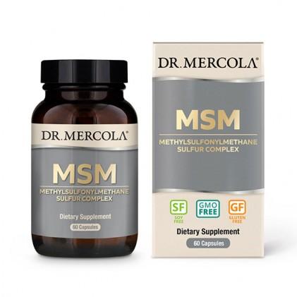 Viên uống bổ sung MSM Sulfur Complex Dr Mercola 1